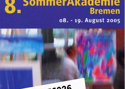 7. Sommerakademie Bremen