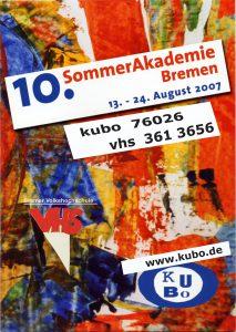 10. Sommerakademie Bremen