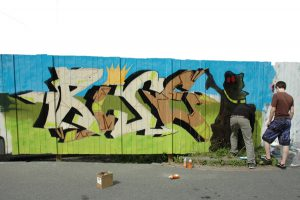 Graffiti-Camp
