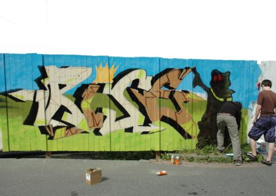 Graffiti-Camp