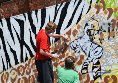Schritt für Schritt zum ersten Graffiti