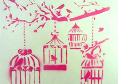 Schablonenkunst, Stencil & Co.