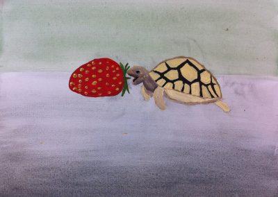 Sommer-Sonne-Farbenmeer  – Malen und Zeichnen