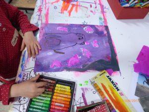 Farbenleuchten – Malerei im Winter