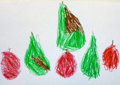 Froschgrün, Vanillegelb und Feuerrot – Malwerkstatt