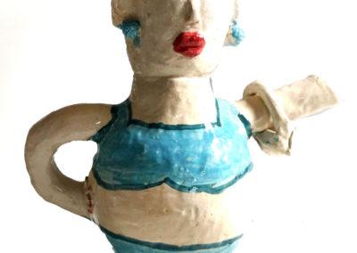 Winterliche Keramikwerkstatt