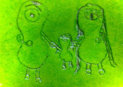 Galaktische Tierwesen und wie sie zu zähmen sind  – Malen / Drucken / Basteln