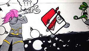 Mural Artspace  – Graffitiworkshop
