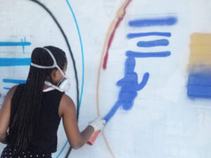 artSTORIES – Graffitiworkshop