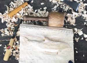 Ein Bild aus Holz