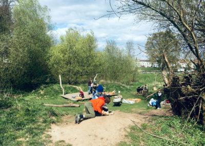Dem Säbelzahntiger auf der Spur – Holzwerkstatt