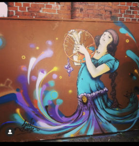 Zu jung um mit dem Sprühen zu beginnen / Mural Art